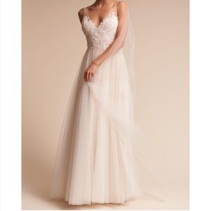 BHLDN Heritage Wedding Gown. Willowby by Waters.